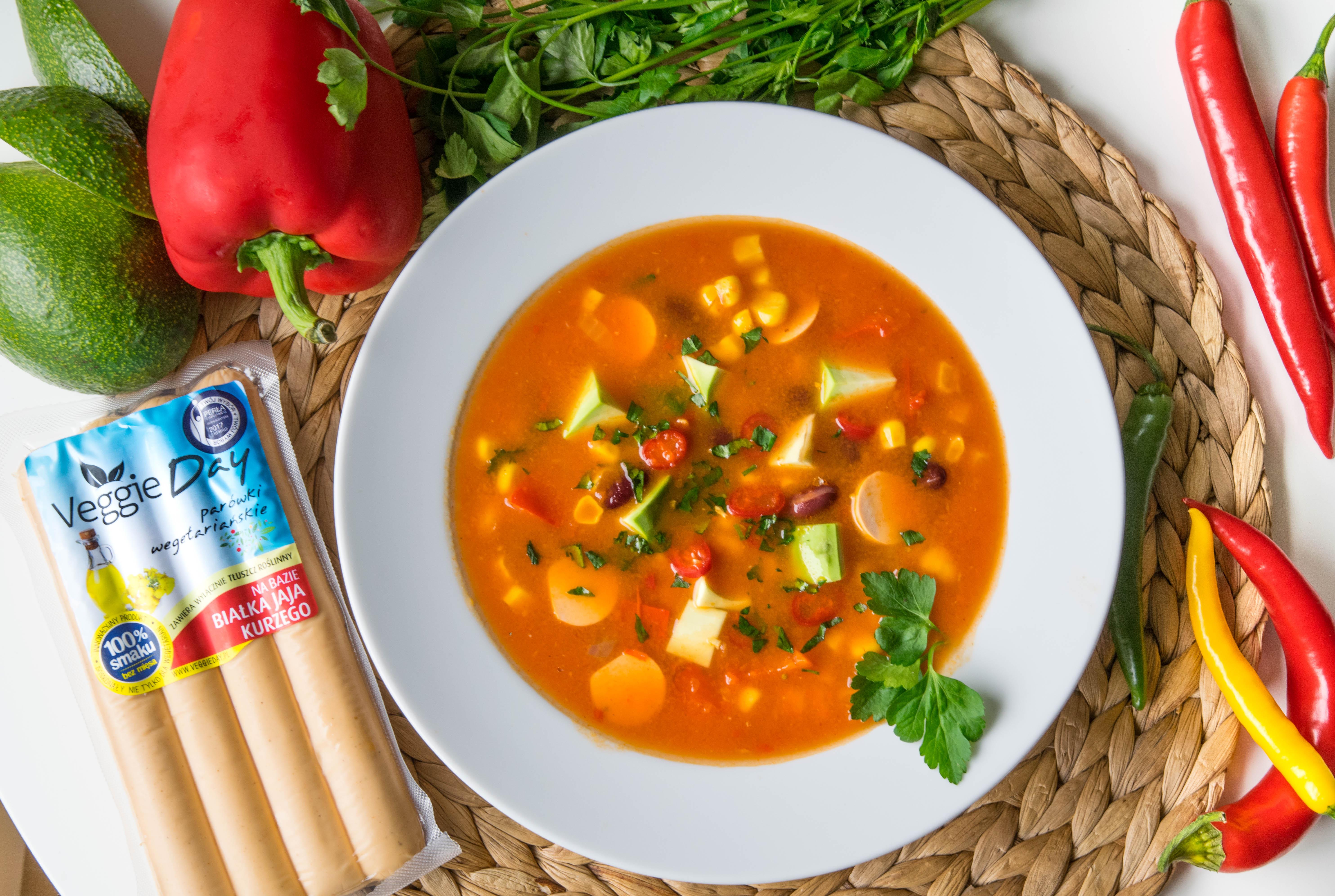 Zupa Meksykanska Veggieday